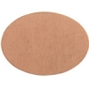 Metal Blank 24ga Copper Oval 25x18mm No Hole